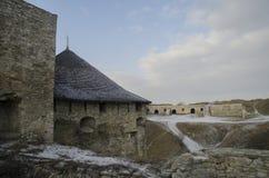 Kamenetz-Podolsk fortress, Ukraine. ! old bastion Royalty Free Stock Images