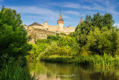 Kamenetz-Podolsk fortress Royalty Free Stock Photo