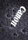 Kamenetz-Podolsky, УКРАИНА, 11-ое августа 2017: вода на логотипе КАНОНА Стоковая Фотография RF