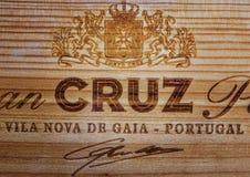 Kamenetz-Podolsky, УКРАИНА, 11-ое августа 2017: Логотип CRUZ Стоковая Фотография