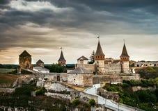 Kamenetz-Podolsky fortress Royalty Free Stock Photos