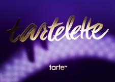 Kamenetz-Podolsky UKRAINA, Augusti 11, 2017: TARTELETTE-logo Royaltyfri Foto