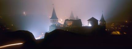 Kamenetz-pololkaya堡垒 免版税库存照片