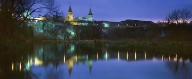 Kamenetz-pololkaya堡垒 库存照片