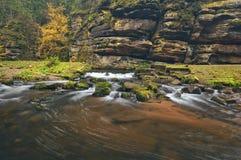 Kamenice river Royalty Free Stock Image
