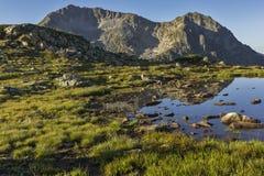Kamenitsa and Kamenishka Kukla Peaks, Pirin Mountain Stock Photo