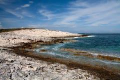 Kamenjak Küste Stockbild