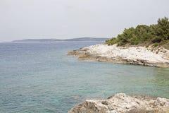 29/5000Kamenjak schiereiland in Istria Royalty-vrije Stock Afbeeldingen