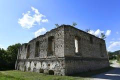 Kamenka is een stad in Moldavië op de linkeroever van de Rivier van Dniester stock fotografie