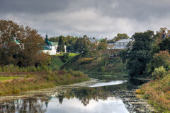 Kamenka River. Suzdal. Russia Stock Photography