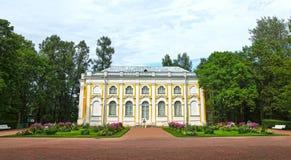 The Kamennoe Zalo (Stone Hall) Pavilion in Oranienbaum royalty free stock photos