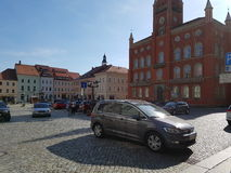 Kamenz old. Altstadt  Street Parking Stock Photography