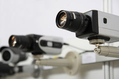kamer cctv ochrony obrazy stock