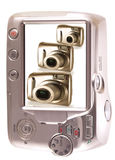kamer pokolenia jeden ekran trzy Obrazy Stock
