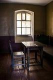 Kamer voor gevangenen van de vesting Shlisselburg Stock Afbeelding