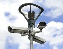 Kamera-Überwachung stockbild