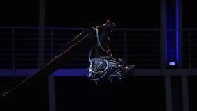 Kamera żuraw w akci zbiory