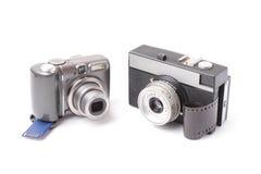 Kamera. Stockfotografie
