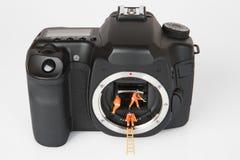 Kamera 4 Stockfoto