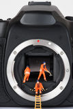 Kamera 5 zdjęcia stock