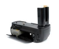 Kamera bateryjny chwyt Zdjęcia Stock