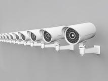 Kamera Bezpieczeństwa ilustracji