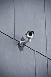 Kamera bezpieczeństwa na budynek biurowy fotografia royalty free