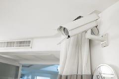 Kamera bezpieczeństwa w szpitalu fotografia stock
