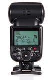 Kamera Błyskowy Speedlight Obrazy Royalty Free