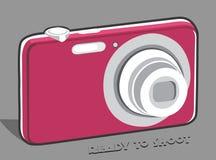kamera 3d Royaltyfri Foto