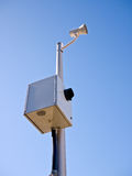 Kamera der roten Leuchte Lizenzfreies Stockbild