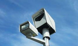 Kamera der roten Leuchte lizenzfreie stockfotografie