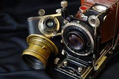 Kamera der Weinlese-35mm SLR Lizenzfreie Stockbilder