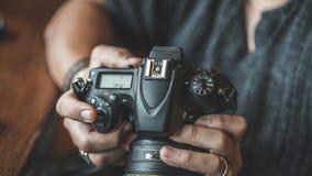 Kamera-Digital-Videoeinstellungs-Foto lizenzfreie stockfotos