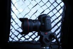 Kamera för Canon 5D fläckdropp Arkivfoto