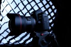 Kamera för Canon 5D fläckdropp Royaltyfri Fotografi