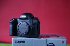 Kamera för Canon 5D fläckdropp Royaltyfri Bild