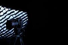 Kamera för Canon 5D fläckdropp Royaltyfri Foto