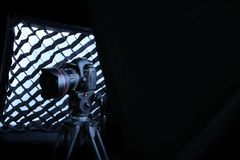 Kamera för Canon 5D fläckdropp Royaltyfria Bilder