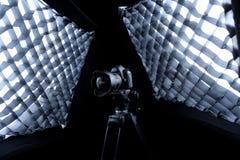 Kamera för Canon 5D fläckdropp Arkivbilder