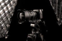 Kamera för Canon 5D fläckdropp Royaltyfria Foton