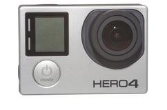 Kamera för hjälte 4 Arkivbild