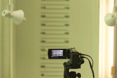 Kamera för legitimationkort Arkivbilder