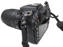 Kamera för reflex Digital för enkel lins Arkivbild