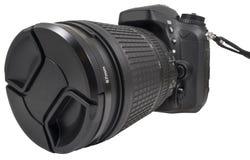 Kamera för reflex Digital för enkel lins arkivbilder