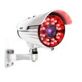 kamera för säkerhet 3d Fotografering för Bildbyråer