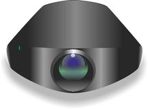 Kamera för video och foto Arkivfoton