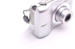 Kamera für das Schießen auf einem weißen Hintergrund lizenzfreie stockbilder