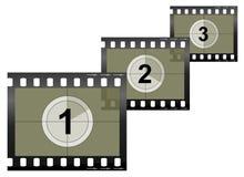 Kamera-Film-Streifen Lizenzfreie Stockfotografie