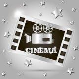 Kamera filmu film Fotografia Stock